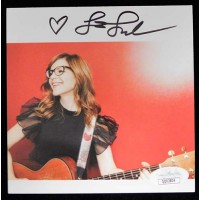 Lisa Loeb Signed A Simple Trick To Happiness CD Insert JSA Authenticated