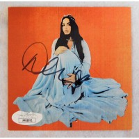 Demi Lovato Signed Dancing With The Devil CD Booklet Insert JSA Authenticated