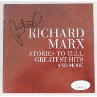 Richard Marx Signed Stories To Tell: Greatest Hits CD Booklet JSA Authenticated