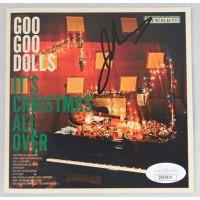 John Rzeznik Goo Goo Dolls Signed It's Christmas All Over CD Booklet JSA Authen