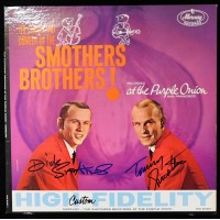Smothers Brothers The Songs and Comedy of The Signed LP Album JSA Authenticated