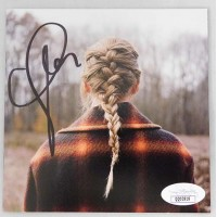 Taylor Swift Signed Evermore CD Booklet JSA Authenticated