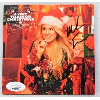 Meghan Trainor Signed A Very Trainor Christmas CD Booklet JSA Authenticated