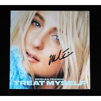 Meghan Trainor Signed Treat Myself CD Booklet JSA Authenticated