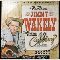 Jimmy Wakely The Singing Cowboy Signed LP Album JSA Authenticated