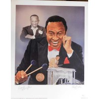 Lionel Hampton Jazz Musician Signed LE 16x20 Christopher Paluso Lithograph JSA Authenticated