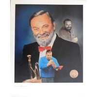 Al Hirt Jazz Musician Signed LE 16x20 Christopher Paluso Lithograph JSA Authenticated