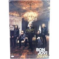 Bon Jovi Signed 13x19 2020 Album Poster JSA Authenticated