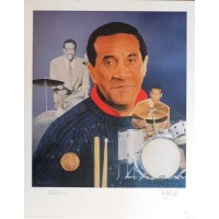 Max Roach Jazz Musician Signed LE 16x20 Christopher Paluso Lithograph JSA Authenticated