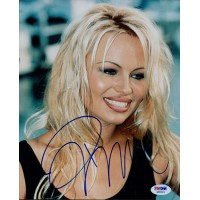Pamela Anderson Baywatch Signed 8x10 Glossy Photo PSA/DNA Authenticated