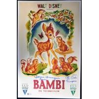 Bambi Donnie Dunagan & Peter Behn Signed 11x17 Photo Beckett Authenticated BAS