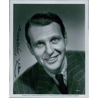 Ralph Bellamy Actor Signed 8x10 Original Still Photo JSA Authenticated
