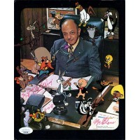 Mel Blanc Bugs Bunny Voice Actor Signed 8x10 Glossy Photo JSA Authenticated