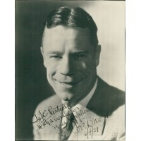 Joe E. Brown Comic Actor Signed 7.5x9.5 Original Photo JSA Authenticated