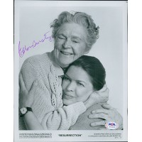 Ellen Burstyn Resurrection Actress Signed 8x10 Glossy Photo PSA Authenticated