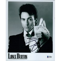 Lance Burton Magician Signed 8x10 Glossy Promo Photo Beckett Authenticated BAS