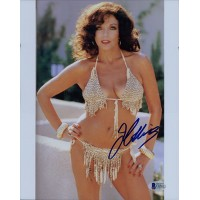 Joan Collins Actress Signed 8x10 Glossy Photo Beckett Authenticated BAS