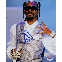 Snoop Dogg Signed 8x10 Color Matte Photo PSA/DNA Authenticated