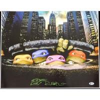Kevin Eastman Teenage Mutant Ninja Turtles Signed 16x20 Photo JSA Authenticated