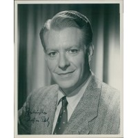 Nelson Eddy Singer Actor Signed 8x10 Original Still Photo JSA Authenticated