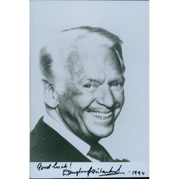 Douglas Fairbanks Jr. Signed 4.5x7 Photo JSA Authenticated