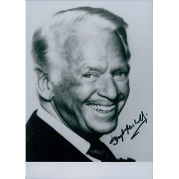 Douglas Fairbanks Jr. Signed 5x7 Photo JSA Authenticated