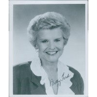 Betty Ford First Lady of Gerald Ford Signed 8x10 Glossy Photo JSA Authenticated