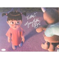 Mary Gibbs Signed Monsters, Inc. Boo 11x14 Matte Color Photo JSA Authenticated