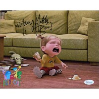 Mary Gibbs Signed Inside Out Baby Riley 8x10 Matte Color Photo JSA Authenticated