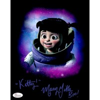 Mary Gibbs Signed Monsters, Inc. Boo 8x10 Matte Color Photo JSA Authenticated