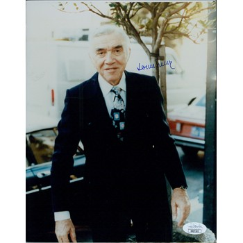 Lorne Greene Actor Signed 8x10 Glossy Photo JSA Authenticated