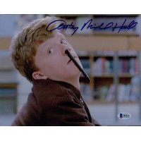 Anthony Michael Hall The Breakfast Club Signed 8x10 Matte Photo BAS Authentic