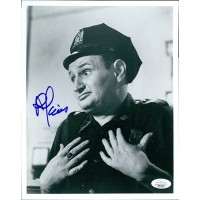Al Lewis Car 54, Where Are You? Actor Signed 8x10 Glossy Photo JSA Authenticated