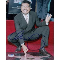 George Lopez Signed 8x10 Matte Photo PSA/DNA Authenticated