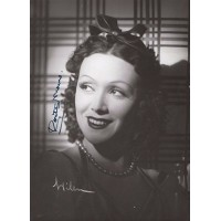 Rosita Moreno Spanish Actress Signed 5x7 Vintage Photo JSA Authenticated