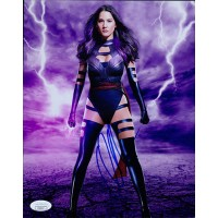 Olivia Munn X-Men Signed 8x10 Matte Photo JSA Authenticated