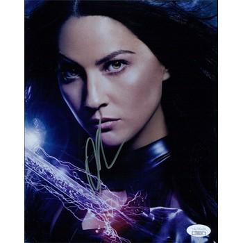 Olivia Munn X-Men Signed 8x10 Matte Photo JSA Authenticated