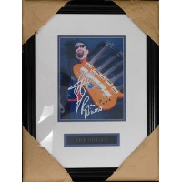 Rick Nielson Cheap Trick Signed 8x10 Framed Photo JSA Authenticated