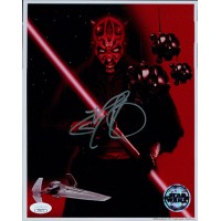 Ray Park Star Wars Signed 8x10 Official Star Wars Photo JSA Authenticated