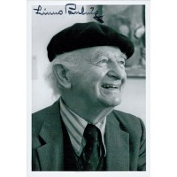 Linus Pauling Chemist Signed 5x7 Black and White Photo JSA Authenticated
