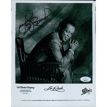 Lou Rawls Jazz Musician Signed 8x10 Glossy Promo Photo JSA Authenticated