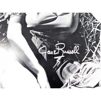 Jane Russell Signed 16x20 Matte Photo JSA Authenticated