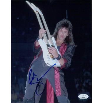 Richie Sambora Bon Jovi Signed 8x10 Matte Photo JSA Authenticated
