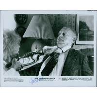 George C. Scott The Exorcist III Signed 8x10 Original Still Photo JSA Authentic