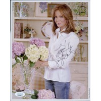 Jaclyn Smith Actress Signed 8x10 Glossy Photo JSA Authenticated