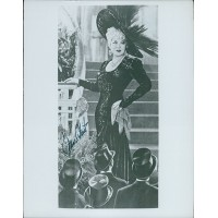 Mae West Actress Signed 8x10 Vintage Glossy Photo JSA Authenticated