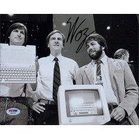 Steve Wozniak Apple Co-Founder Signed 8x10 Matte Photo PSA/DNA Authenticated