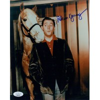 Alan Young Mr. Ed Actor Signed 8x10 Glossy Photo JSA Authenticated