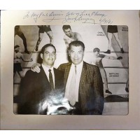 "Jack Dempsey ""Boxer"" Signed Matte Border W/ Souvenir 8x10 Photo JSA #AA84624"