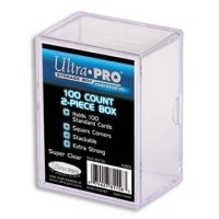 Ultra Pro 100 Count 2 Piece Box